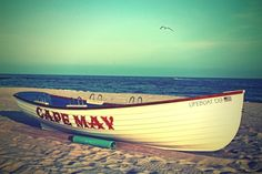 Cape May LifeBoat  8x12 Fine Art by TheJonathanGalleries on Etsy, $30.00