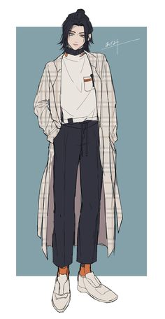 ideas drawing poses male anime character design references for 2019 Anime Boy Zeichnung, Cute Art Styles, Drawing Clothes, Art Reference Poses, Design Reference, Cute Anime Guys, Boy Art, Character Design Inspiration, Aesthetic Art