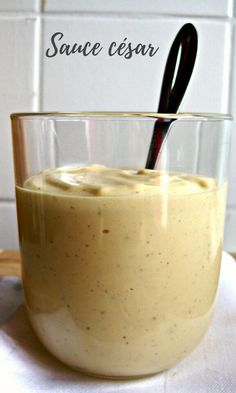 Caesar sauce – a squirrel in my kitchen Caesar sauce – a squirrel in my kitchen Sauce Salade Cesar, Cooking Chef, Cooking Recipes, Cesar Salat, Caesar Sauce, Clean Eating Soup, Bearnaise Sauce, Marinade Sauce, Food Wishes