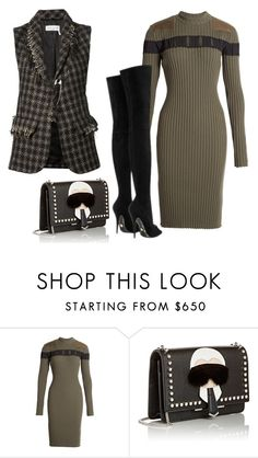 """Untitled #2514"" by teodoragucunski ❤ liked on Polyvore featuring Alexander Wang, Fendi, Sonia Rykiel, women's clothing, women, female, woman, misses, juniors and trendytweed"