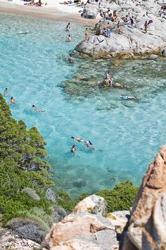 Cala Corsara, isola di Spargi, Sardinia, Italy