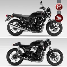 Honda CB 1100 - nice transformation. This is what it should have looked like to begin with!!!