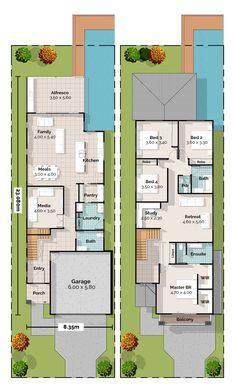 Enoggerra Two Storey House Plan
