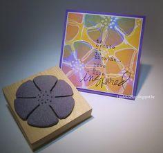 Donna Downey Sentiment + Homemade stamp Interested in more details, please visit my blog. Gr Linda
