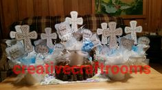Holy Communion Table Decoration Centerpieces by CreativeCraftRooms