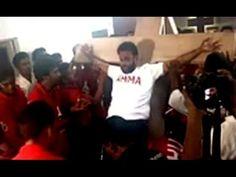 Jayalalitha's fan crucifies self to greet her on 67th B,day