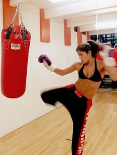 Kick boxing. Always wanted to try it... heard the muffin tops melt right off...