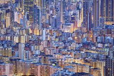 Forget Golden Hour. Hong Kong's Blue Hour Is Where the Magic's At | Credit: Romain Jacquet-Lagrèze | From Wired.com