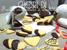 Cuori di frolla cioccolato e arancia http://blog.giallozafferano.it/incucinadalicia/cuori-di-frolla-cioccolato-e-arancia/