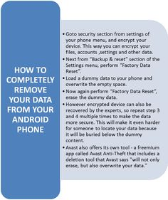 How to encrypt your personal data from android phone.