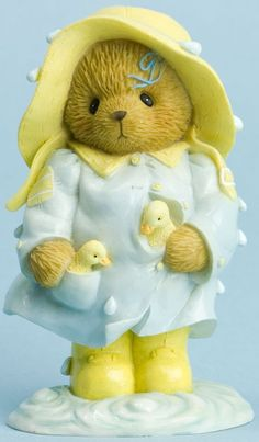 Cherished Teddies Mae Rain Slicker - You are Puddles of Fun