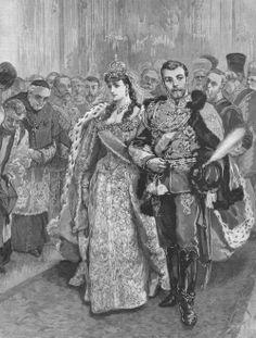 The wedding of Nicholas and Alexandra