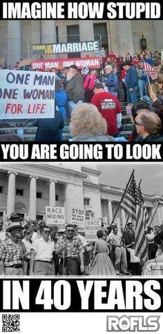 Imagina q tan estúpido te verás en 40 años