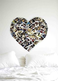 This is such a cute idea!!!! :) (I wouldn't put it over my bed though.. ) :)