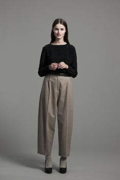 Sibyl Shirt and Lebel Trouser | Samuji FW14 Seasonal Collection