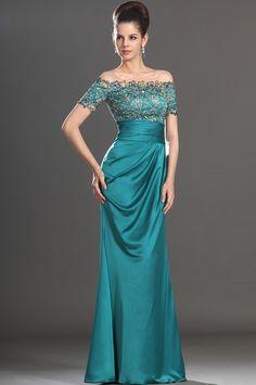 eDressit 2013 New Stylish Short Sleeves Beadings Mother of the Bride Dress