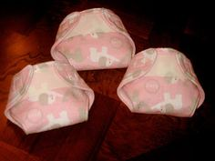 Cloth Baby Doll Diaper Tutorial - The Cottage Mama