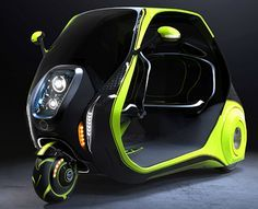 LINDO Smart is a quirky electric car designed to take on city traffic jams | Inhabitat - Sustainable Design Innovation, Eco Architecture, Green Building