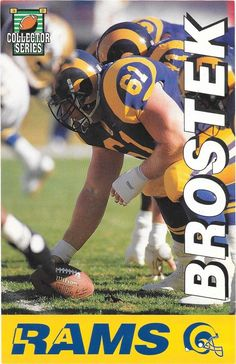 1994 L.a. Rams Collector Series #Football Schedule By The L. A. Times Brostek. from $3.59 Hawaii Sports, La Rams, Football Pictures, Professional Football, American Football, Dodgers, Soccer Ball, Football Team, The Collector