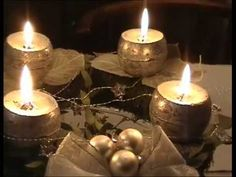 A négy gyertya - YouTube Tea Lights, Advent, Candles, Youtube, Tea Light Candles, Pillar Candles, Lights, Candle