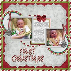 Logan's First Christmas by Lukasmummy, via Flickr