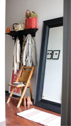 simple entryway