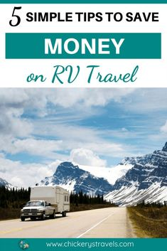 Looking to save money on RV travel? Check out these five simple tips that will save you thousands in campgrounds and fuel costs. RV vacations and camping can be a very economical way to travel with the whole family. Ways To Travel, Rv Travel, Travel Tips, Adventure Travel, Cheap Travel, Travel Hacks, Travel Advice, Budget Travel, Travel Destinations
