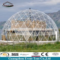 Source 50meter geodesic dome greenhouse with best price from guangzhou tent factory on m.alibaba.com