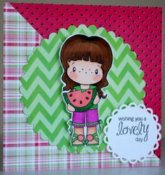Adorable handmade any occasion card by rbowen on Etsy, $4.00