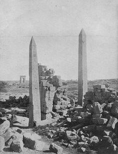 Obelisks at Karnak.