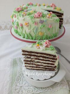 Aleda konyhája: Tavasz torta