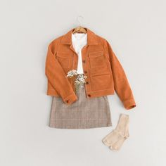 Olive clothing outfit
