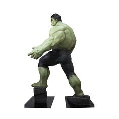 Life-Size Hulk Statue Brings the Avengers Action to Your Mancave -  #hulk #marvel #statue