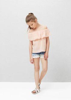 Camisas de Niños | MANGO Kids España
