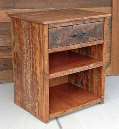 Rustic Furniture Portfolio Would Be So Cute With A Crystal Lamp On Top