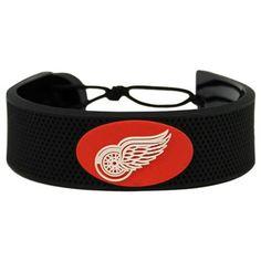 Detroit Red Wings Classic Hockey Bracelet #DetroitRedWings