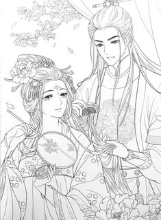 People Coloring Pages, Colouring Pages, Adult Coloring Pages, Coloring Books, Writing Fantasy, Printable Coloring Sheets, Art Prompts, Art Drawings Sketches, Anime Fantasy