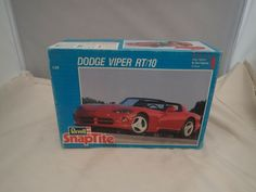 DODGE VIPER RT/10 REVELL 1:25 SCALE SKILL 1 VINTAGE PLASTIC MODEL KIT#6260 ©1992 #Revell