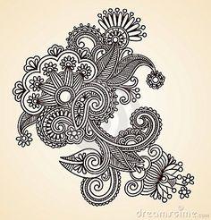 Resultado de imagem para henna designs drawings