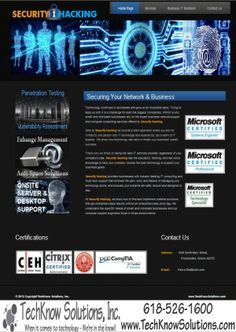 Security Hacking Website #techknowsolutions