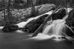 Ansel Adams Wilderness, California. Dusk, Shadow Creek💠Ansel Adams.💠PHOTOGRAPHY 💠More Pins Like This At FOSTERGINGER @ Pinterest💠