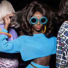 Jeremy Scott. Exquisite Opticals. Linda Farrow. SS16