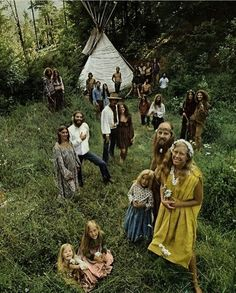 Hippie community , early 70s