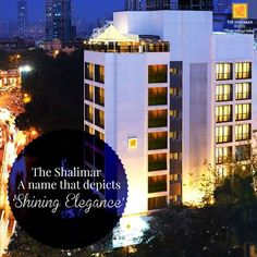 The Shalimar Hotel draws inspiration from the legendary gem-stone by the same name. Like a diamond that exhibits a prismatic multi-faceted beauty, the Hotel has evolved through its journey of 54 years to achieve a radiance hallmarked with perseverance and a dedicated hospitality quotient.