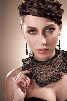 Jewelry by Tavia Sanza buy online at taviasanza.com Photography by Ipaghost Hair and Makeup by Samantha Gribble