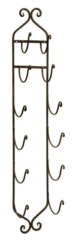 IMAX Home 9748 Rustic Towel / Wine Rack Home Decor Organization Wine Racks