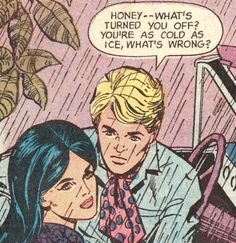 She is pissed ,you stole her Pink Scarf. And wearing it too Huh, I think she is kinda wondering wtf you are about ! Comics Love, Old Comics, Comics Girls, Vintage Comics, Old Comic Books, Vintage Pop Art, Romance Comics, Comic Book Panels, Pop Art Illustration