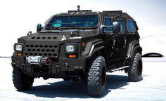motoriginal:  Go home Hummer Gurkha is here.