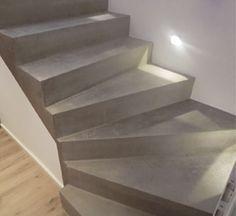Traprenovatie-betonlook