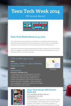Tech week yalsa teen